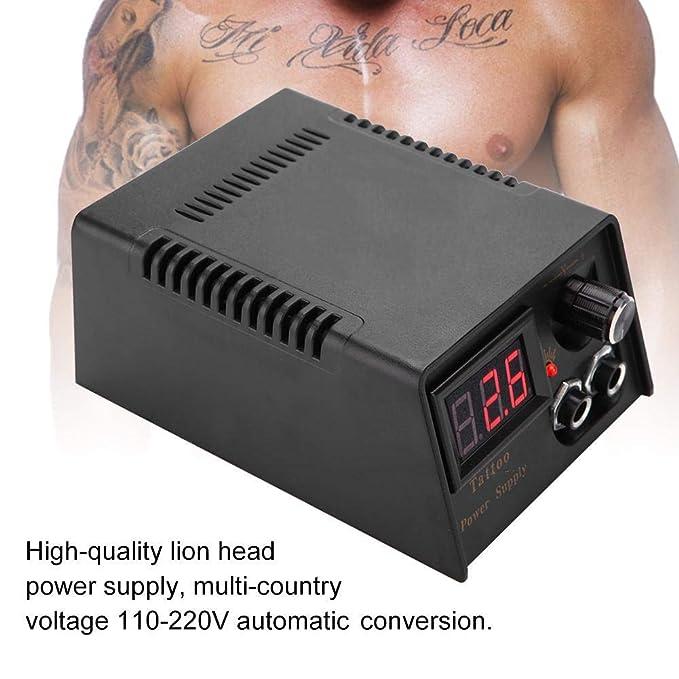 Fuente de alimentación profesional Lion Head Tattoo Power Supply ...