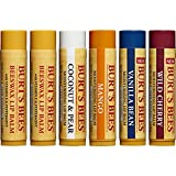 Burts Bees 100% Natural dJVMal Moisturizing Lip Balm, Multipack, 6 Count (Pack of 5)