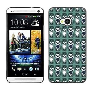 ZECASE Funda Carcasa Tapa Case Cover Para HTC One M7 No.0004685