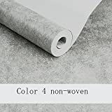 Wxl American plain retro wallpaper non-woven bedroom living room TV backdrop women's clothing store wallpaper (Color : Color 4)