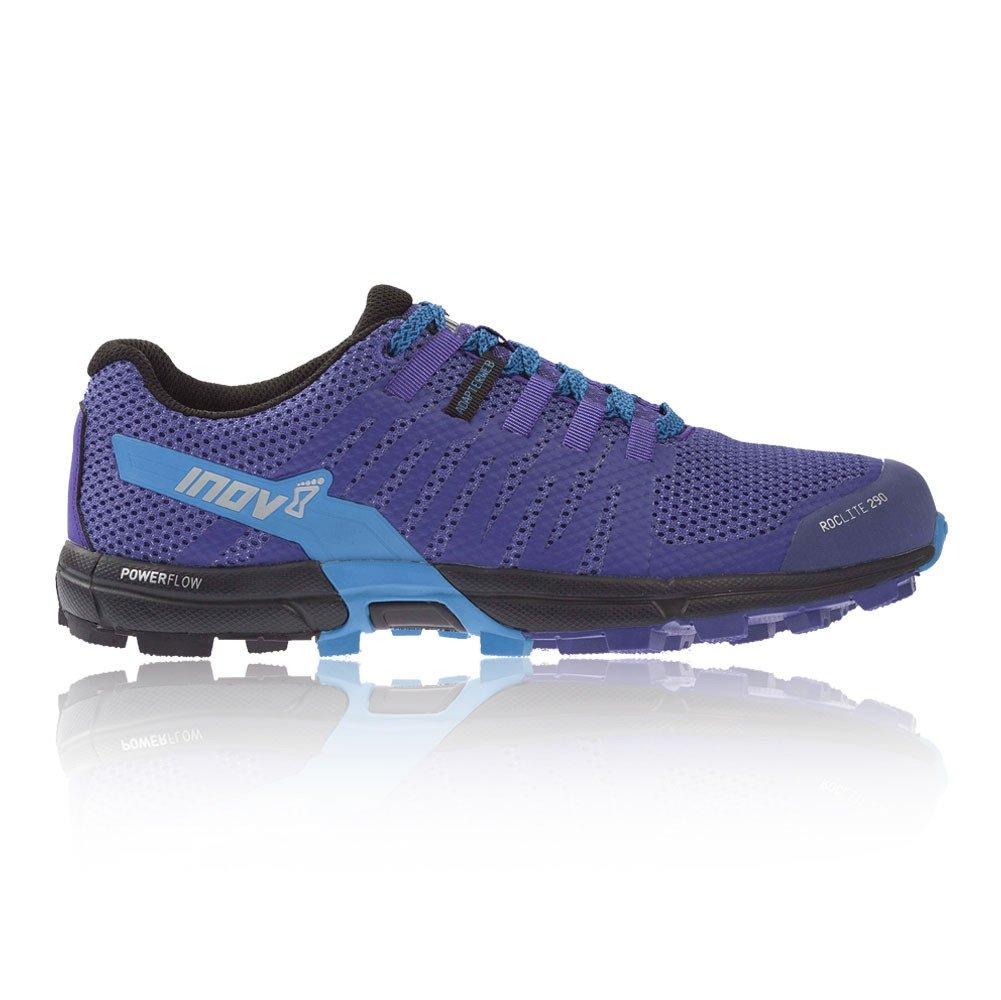 Inov-8 Women's Roclite 290 (W) Trail Running Shoe, Purple/Blue, 7.5 B US
