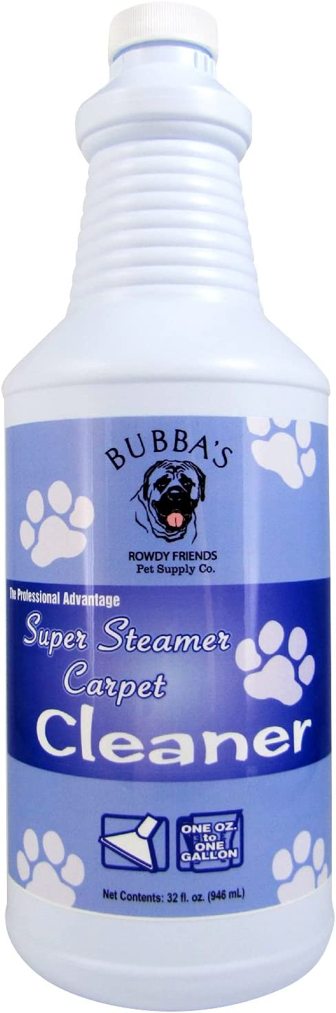 Best for Pet Owners - Bubbas Super Strength Concentrate Carpet Shampoo Solution