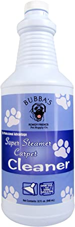 Bubbas Super Strength Concentrate Pet Odor Eliminator Carpet Shampoo Solution