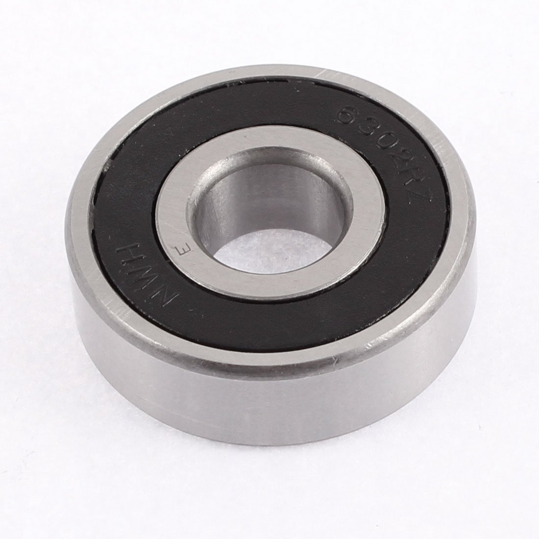 DealMux 6302RZ 42mm x 15mm x 13.5mm Rubber Sealed Deep Groove Ball Bearing