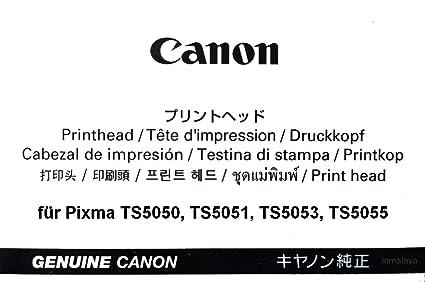 Canon - Cabezal de impresión Original para Pixma ts5050 ...
