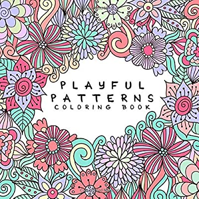 - Playful Patterns Coloring Book: For Kids Ages 6-8, 9-12 (Coloring Books For  Kids): Back To School Essentials: 9781719891905: Amazon.com: Books