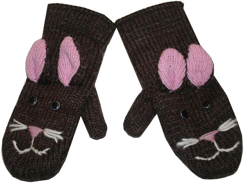 Animal Glove Wool Fleece...