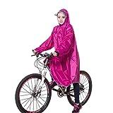 Zjc レインコート 自転車 バイク ロング ポンチョ 男女兼用 メンズ レディース 通勤通学 フリーサイズ 完全防水 高品質