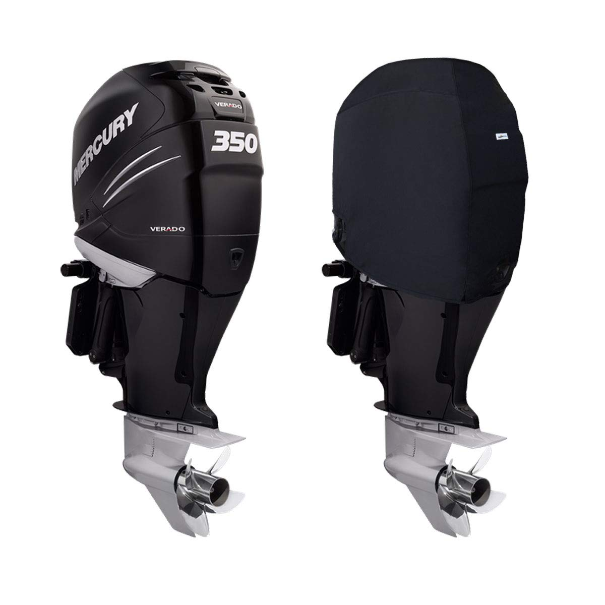 Verado 6CYL 2,6L Oceansouth Custom Fit Storage Covers for Mercury Verado 6-Cylinder Outboards 200HP to 400HP