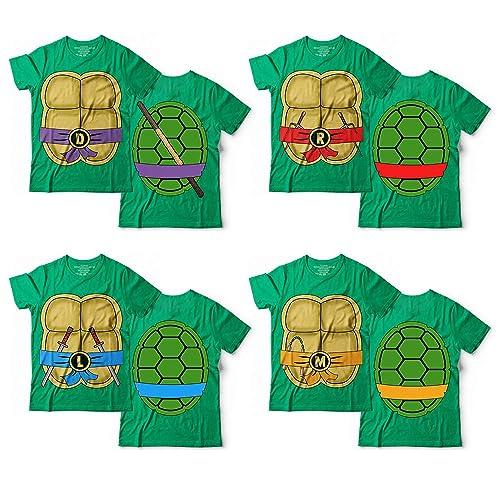 Amazon.com: Ninja Turtles Costume Halloween Cosplay Matching ...