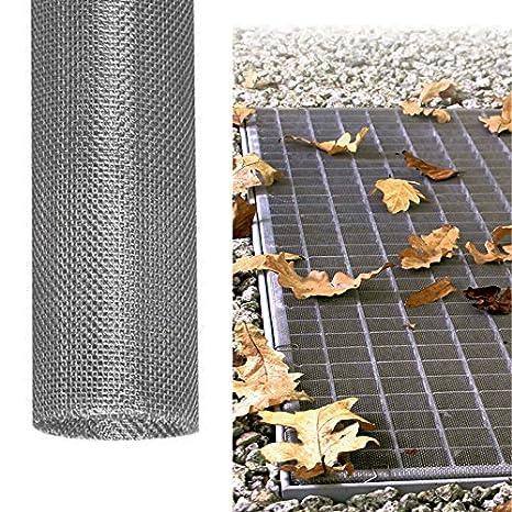 einfache Montage ohne Bohren Powerpreise24 3X Lichtschachtabdeckung Basic 115 x 60 cm Lellerschachtabdeckung mit ALU Rahmen Eva Gewebe individuell k/ürzbares Schutzgitter
