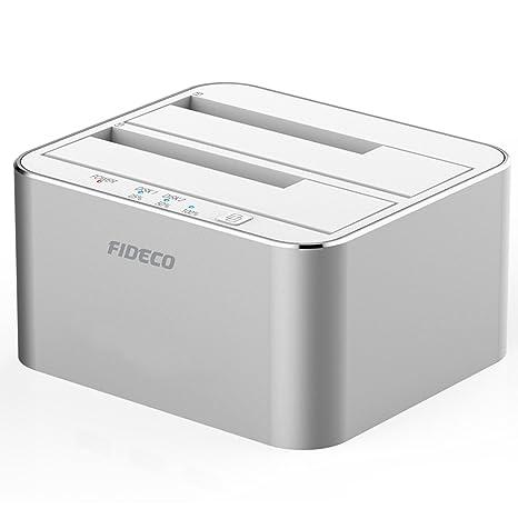 Amazon.com: Estación de acoplamiento para disco duro, FIDECO ...