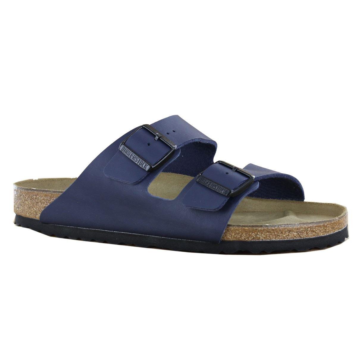 Birkenstock Arizona Blue Mens Sandals Size 45 EU