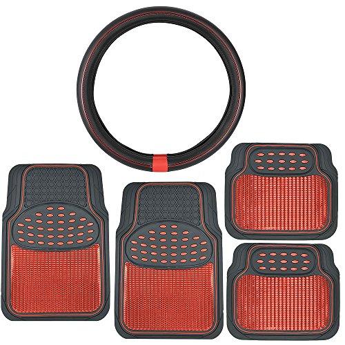 Metallic Finish ProSleek Leather Steering product image