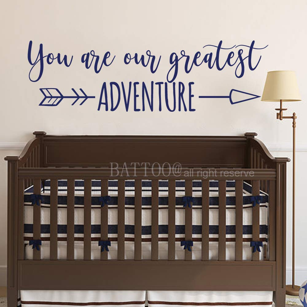 Amazon.com: BATTOO You are Our Greatest Adventure - Adhesivo ...