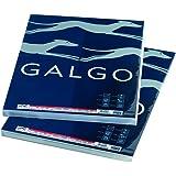 Galgo 49910 - Paquete de 100 hojas verjurados A4, color blanco