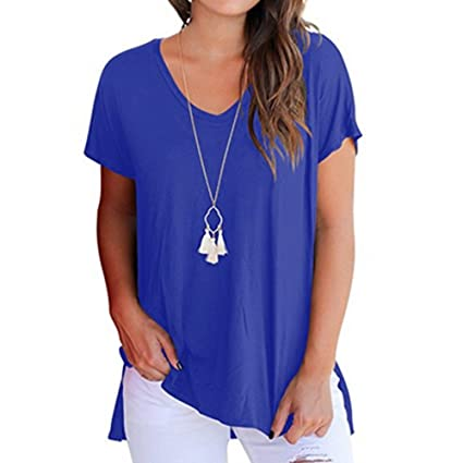 93bf20e5 Amazon.com: YKARITIANNA Women's Casual Crisscross Cold Shoulder Basic  T-Shirt Blouse Tops: Arts, Crafts & Sewing