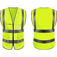 Chaleco amarillo, Chaleco de seguridad / Chaqueta reflectante