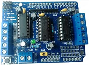 Motor Shield 4 Channel L293D H-Bridge Dc Motor Control For Arduino