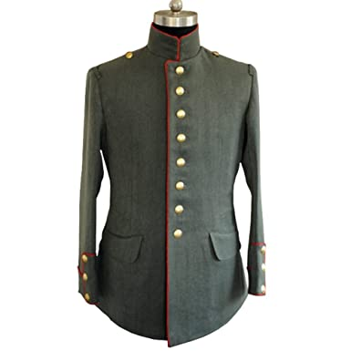 Amazon com: WWI German Empire M1910 Officer Gabardine Jacket(Top