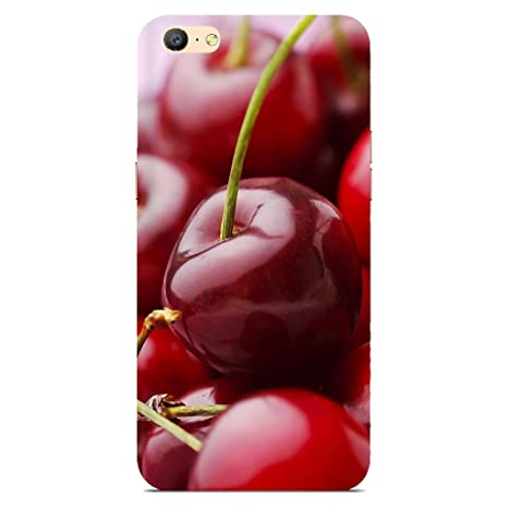 quality design 46cf1 cdb20 Oppo A57 Back Cover/Oppo A57 Apple Printed Red Back: Amazon.in ...