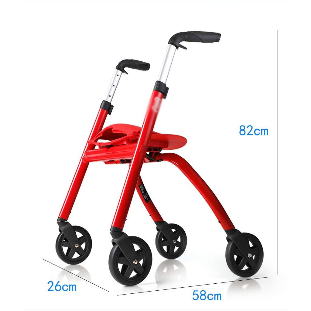 Xbswhm Rodilla Scooter con Canasta Rodilla Walker para Lesiones De ...