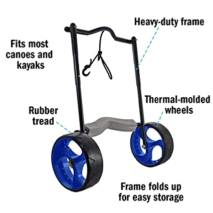 9b008e38c772 Seattle Sports Original End Cart - Wheeled Kayak and Canoe Carrier Dolly