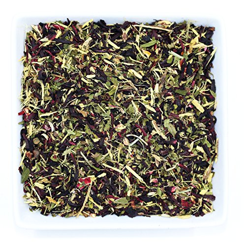 Tealyra - Flat Belly Detox - Fennel - Peppermint - Hibiscus - Wellness Herbal Loose Leaf Tea - Vitamins Ruch - Cleanse Tea - Caffeine Free - All Natural - 112g (Licorice Root Peppermint Tea)