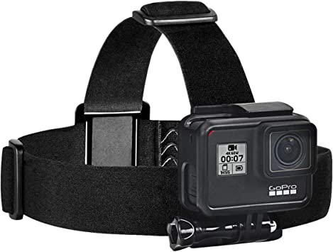 4 Elastic Mount Ski Hat Adjustable Head Strap For Go Pro Camera 2 3 3