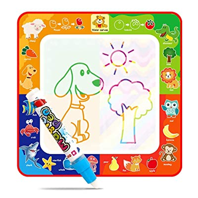 Gfones New Kids Children Color Writing Blanket Graffiti Cloth Water Cloth Toys Drawing & Sketch Pads: Clothing