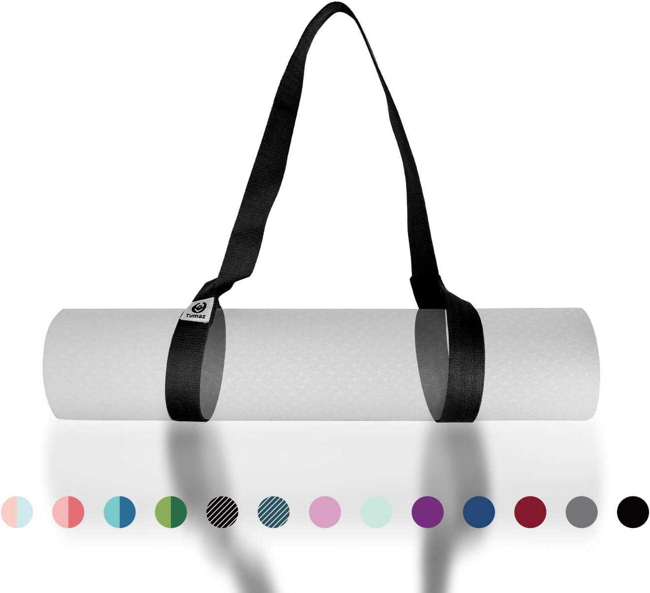 Tumaz Yoga Mat Strap, 2-in-1 Adjustable Sling