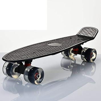 Yter Skateboard SkaterTrainer Placa de Skate para Adultos/Plato de Pescado Profesional en el Cepillo