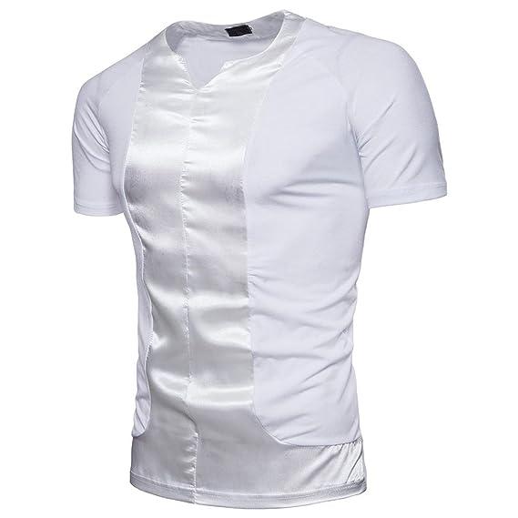WINWINTOM Moda de Verano Camisetas, 2018 Camisetas y Polos De Hombre, Moda Hombres Blusa