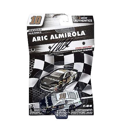 AUTOGRAPHED 2018 Aric Almirola #10 Smithfield Racing