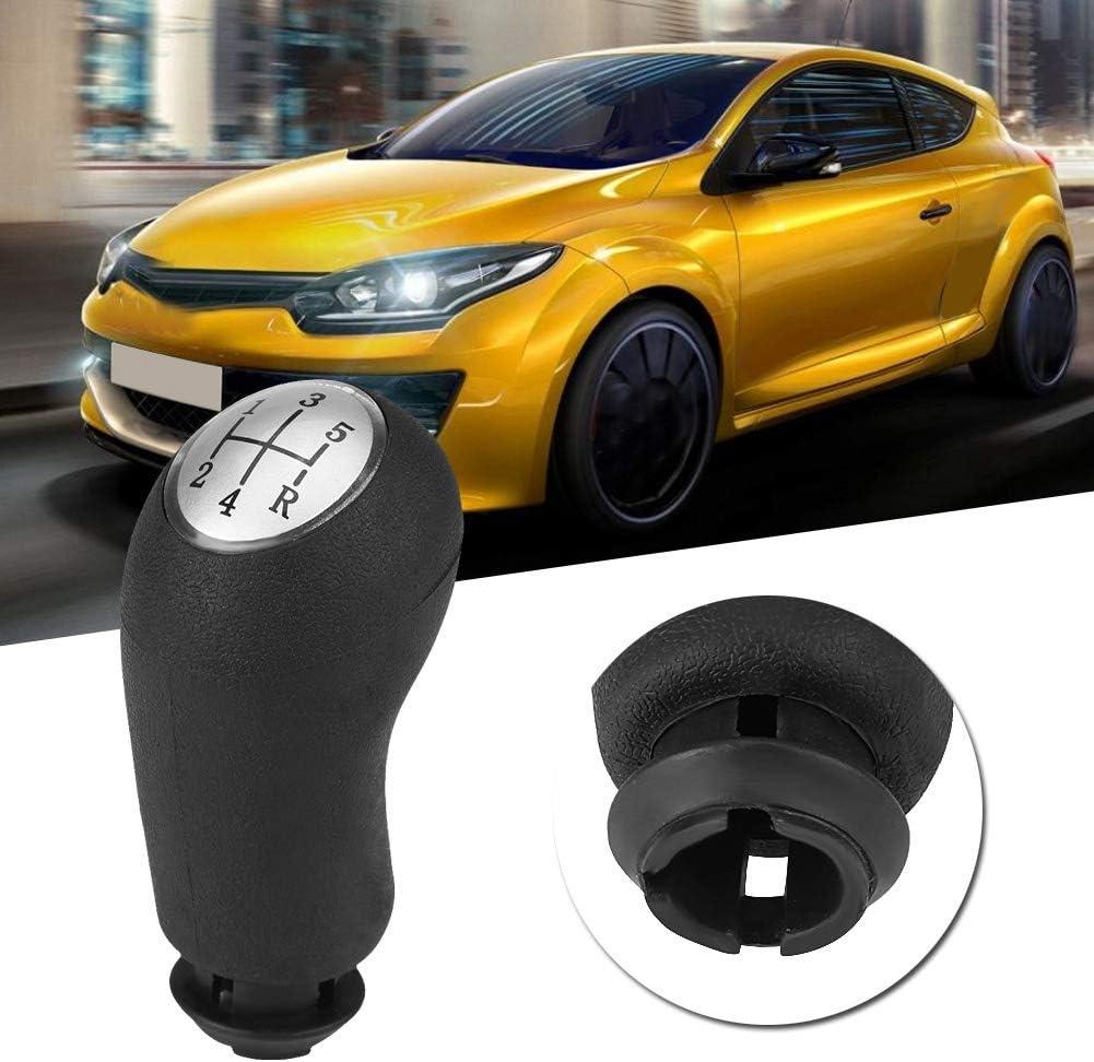 Pomo de cambio de marchas-Car Auto 5 Sd Pomo de cambio de palanca de cambios para Renault Clio III Megane II Scenic II