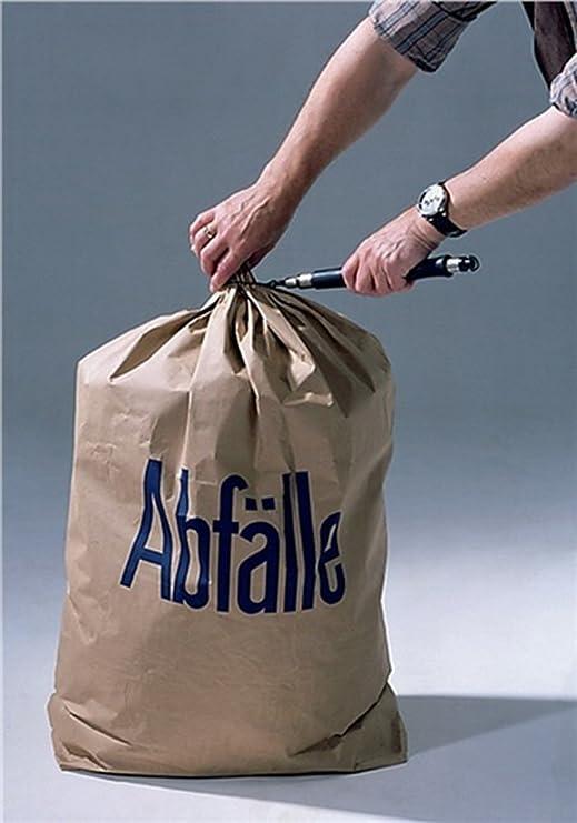 Bolsa de basura de papel 700x950mm 2 capas con pliegue en ...