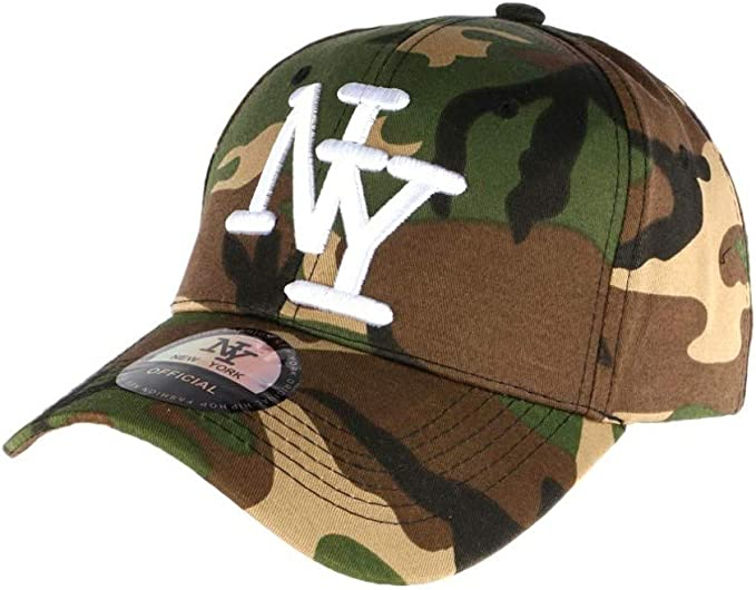 Hip Hop Honour - Gorra NY para niño Militar, Color Caqui Chief de ...
