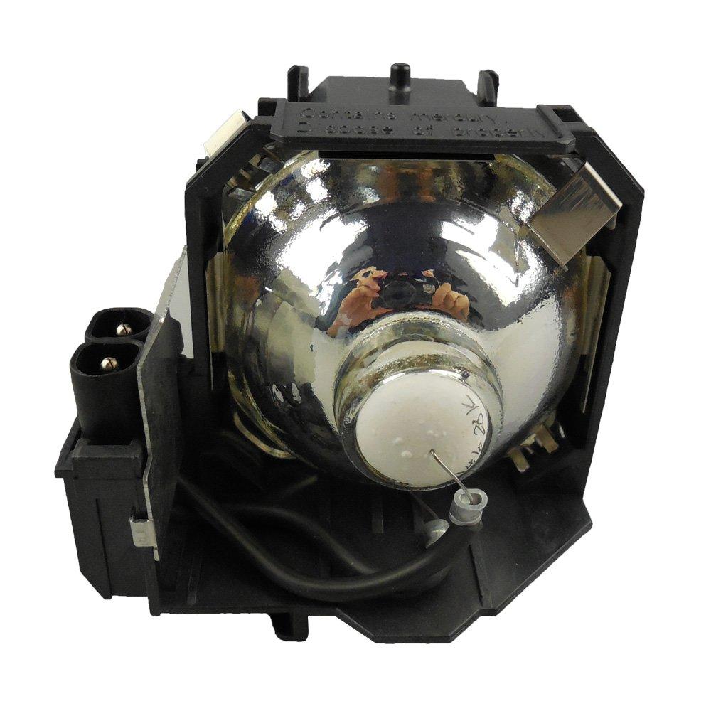 HFY marbull E38 L/¨mpara de Repuesto con Carcasa para EMP-1715 EMP-1705 EMP-1710 EMP-1700 EMP-1707 EMP-1717 EX100 PowerLite 1700c PowerLite 1705c PowerLite 1710c PowerLite 1715c proyector