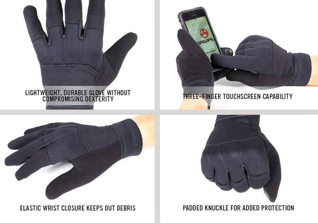 Magpul Core Technical Lightweight Work Gloves, Charcoal, Large by Magpul (Image #2)