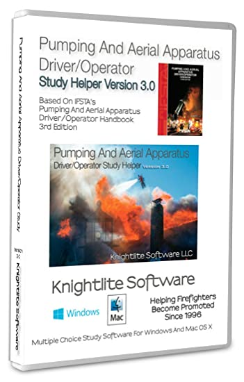 Pumping And Aerial Apparatus Driver Operator 3rd Edition Study Software Win MacOS