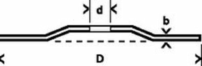 VE: 15/pezzi Tyrolit/ Tessuto di collegamento 1/pezzi 34019884 /Disco di taglio 42//° dimensioni 150/X 1,6/X 22,23