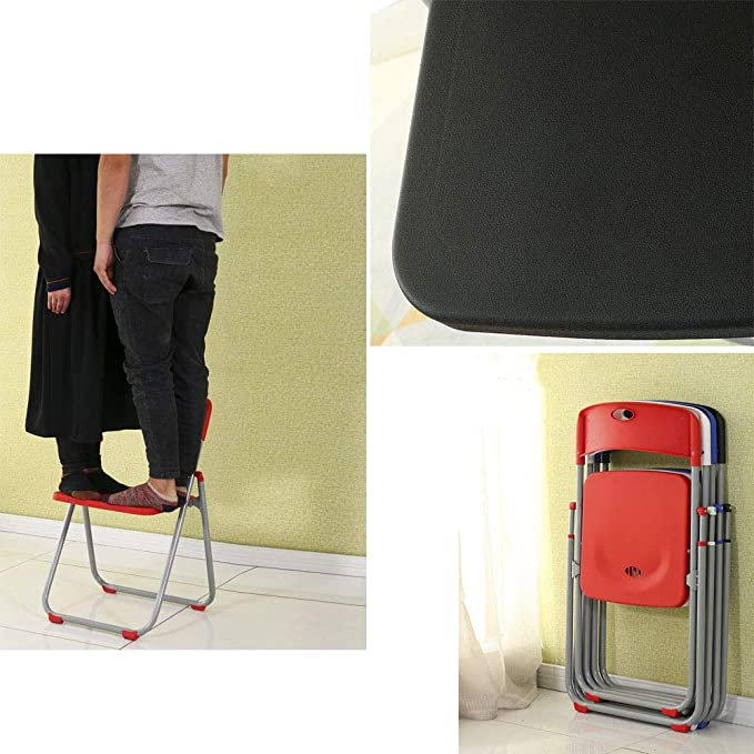 Amazon.com: Silla de sillón portátil con asa plegable de ...