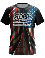 0c8d9cbd CoolWick Storm Old Glory Bowling Jersey