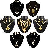 Chitralekha Traditional Necklace Combo Jewellery Set For Women