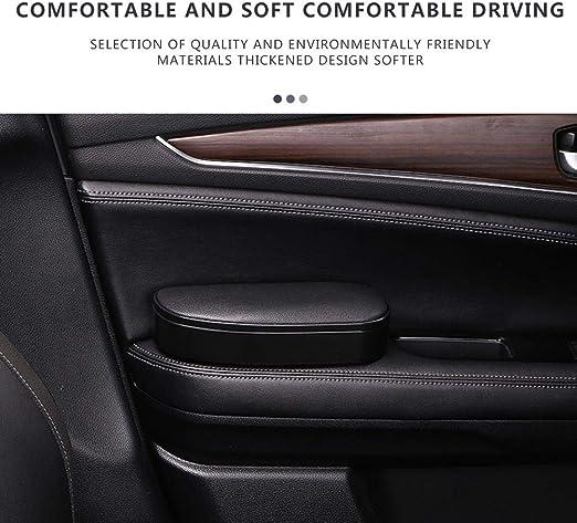 bulrusely Supporto per Corrimano Auto Imbottitura di Sollevamento Bracciolo Universale Regolabile per Auto Bracciolo Principale per Porta Auto Comfort Bracciolo Sinistro Supporto per Gomito