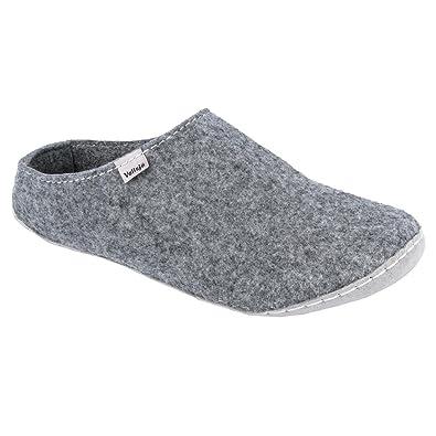 sports shoes 389a7 d812b Vollsjö Herren Mann Filz Filzschuhe Hausschuhe Filzpantoffeln