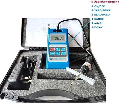 2018 Portable Digital Gauss Meter Static Magnetic Field Tesla Tester 2000mT