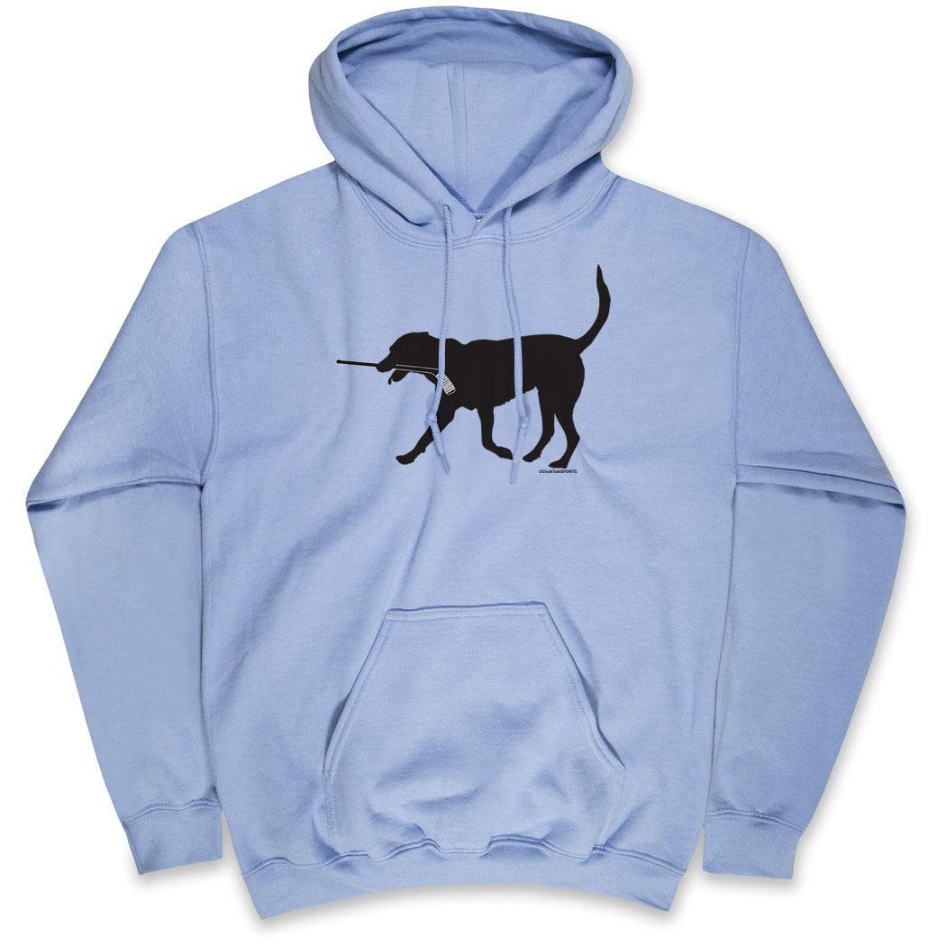 ChalkTalkSPORTS Hockey Standard Sweatshirt | Howe The Hockey Dog