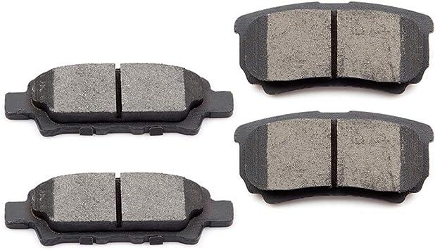 2015 2016 For Chrysler 200 Front and Rear Ceramic Brake Pads