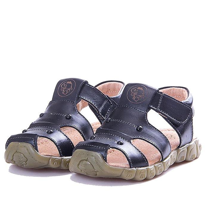 Eagsouni Unisex Kids' Athletic Casual Leather Sandal Summer Closed Toe  Outdoor Soft soled Sandal: Amazon.co.uk: Shoes & Bags